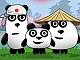 3 Panda Japonya'da